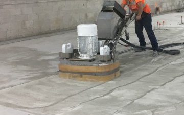 Los Aneleses Concrete Polishing - Floor Preparation